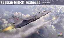 "Hobby Boss 1/48 scale aircraft models 81753 Russian MiG-31 ""foxhound"" interceptor(China)"