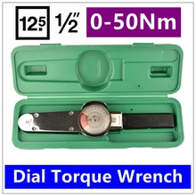 MXITA Dial torque spanner High-precision pointer torque wrench 1/2 0-50Nm hand tools(China)