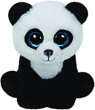 Cute Beanie Plush Animals Ming Panda Bear Big Eyes Stuffed Animal 15CM/25CM Medium Baby Kids Toys for Children Gifts(China)