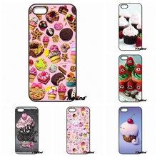 Cute Cherry Cupcakes Ice Cream Mobile PHone Case For Motorola Moto E E2 E3 G G2 G3 G4 PLUS X2 Play Style Blackberry Q10 Z10