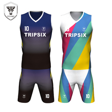 high quality sublimated basketball uniform best basketball jersey design(China)