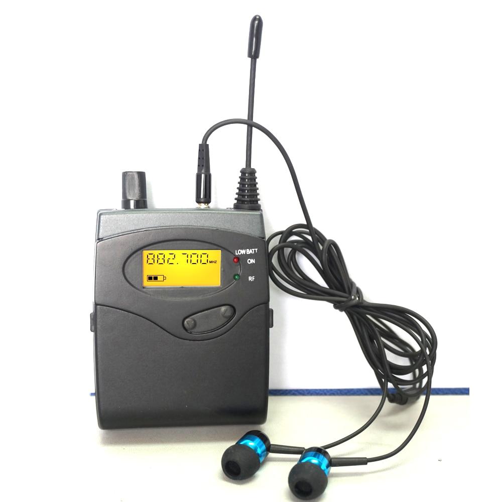 10 Receivers BK-2050 UHF Wireless In-Ear Monitor System In Ear Professional Stage Wireless Monitor System 1 Transmitter Earphone