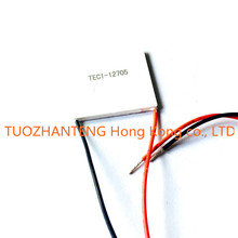shipping! TEC1-12705 Thermoelectric Cooler Peltier 12705 12V 5A Cells, TEC12705 Peltier Elemente Module(China)