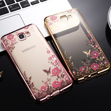 Buy Soft tpu case Samsung A3 A5 A7 2016 J3 J5 J7 2017 J530 J5 J7 Prime S4 S5 S6 S7 S8 Plus Plating Flower Bling Diamond Case for $1.25 in AliExpress store
