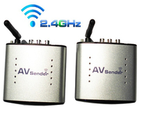 New 2.4GHz Wireless AV Audio Video Sender& Receiver Transmitter & Receiver Support 4 groups of channels 110V-220V 150M PAT330