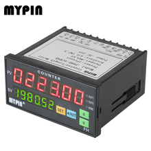 MYPIN 6 Digital Counter Length Counter Length Meter Relay Output PNP NPN Multi-functional Intelligent 24V DC Preset