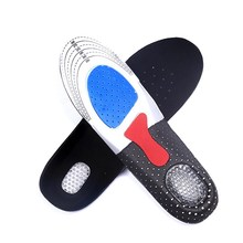 1 Pair Men Gel Orthotic Arch Support Sport Shoe Pad Running Gel Insoles Insert Cushion Shoe Pad L For Men Feet Care Pads