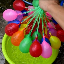 3 bunches Balloons Quick Ammo Water Balloons Bombs toy Outdoor Garden Fun Children's day Party Toy water balls Summer gift