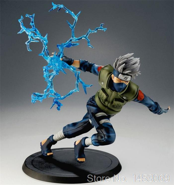 Anime Naruto Hatake Kakashi Running Tsume Xtra Ver. PVC Figure Collectible Model Toy 22cm KT1688<br>