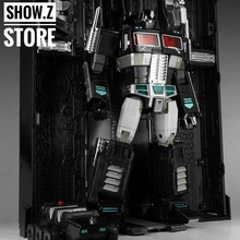 [Show.Z Store] 4th Party MP-10B OP Black Version Convoy Nemesis /w Trailer Transformation Figure(China)