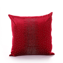 PANFELOU 45*45cm environmental red over the sky star knitting Milky Way Cushion Cover for sofa livingroom bedroom(China)
