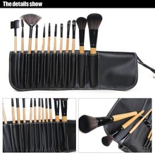 12 Pcs Synthetic Hair  Makeup Brushes Tools Professional Long Set Kit Brush to Make up