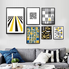 abstract geometry canvas painting fashion abstract modern picture wall art print poster painting HD2139