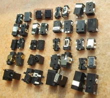 Free Shipping 20 Models /100pcs Power DC Jack Connector, Socket for Laptop Netbook Tablet Pad and MID(China)