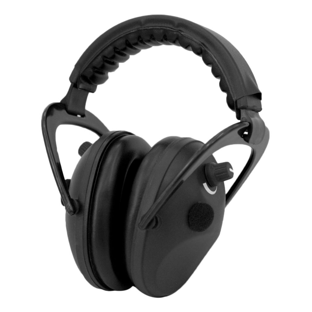 Electronic Ear Hearing Protective Headband For Shooting Hunting Ear Muff Print Tactical Headset Sound Activated Compression<br>
