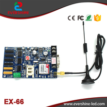 Latest Upgrade New Product GPRS EX-6CN (Old Version GPRS EX-66) High Stable LED SIM Controller for Taxi & Bus LED Screen