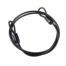 Cable Steel Wire Rope 100cm/39'' For Outdoor Sports Bike Lock Bicycle Cycling Scooter Guard Security Luggage Safety Hot Sales