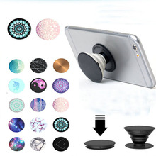 pop phone stand paste universal For iphone Plus Telescopic finger Socket Telescopi For Huawei xiaomi Meizu ABS Balloon stent