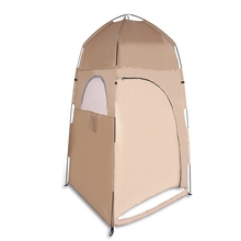 Water Resistant Bath Dressing Tent Tabernacle 1 Person Outdoor Camping Hiking Waterproof Single tents