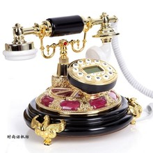 Vintage telephone fashion phone antique old fashioned telephone the callerid(China)