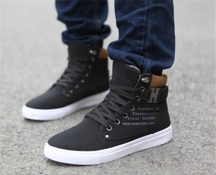80103617a 1 par de zapatos de primavera y otoño zapatos de hombre calientes Tenis  Masculino hombres cómodos