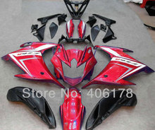 Hot Sales,Customized FZ 6R fairing FZ6R fairing kit For Yamaha FZ-6R 2009-2013 Sport Bike Red Body kits motorcycle fairings