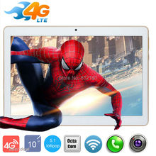 "2017 Newest 10 inch Tablet PC Octa Core 4GB RAM 32GB ROM Dual SIM Cards Android 5.1 GPS 3G 4G LTE Tablet PC 10 10.1"" +Gifts"