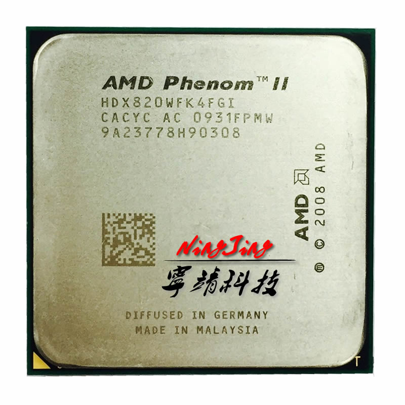 AMD Phenom II X4 820 2.8 GHz Quad-Core CPU Processor HDX820WFK4FGI Socket AM3 title=