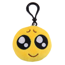 Wechat Emoji Keychain Plush Keyring Emoticon Key Ring Plush Face Emoji Key Chain Bag Hanger Phone Chain Fur Keychain S3755(China)