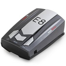 E8 360 Degree Car Laser Radar Detector Speed Control Road Safety Warner Cars Alarm Security System English/Russian Warning