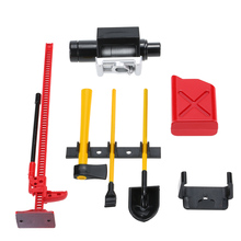 6Pcs AUSTAR 10008 RC Decoration Tool Set Kit RC Accessories for 1:10 RC Rock Crawler(China)