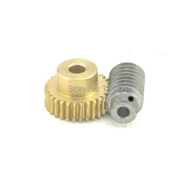 Free shipping/m=1 worm and worm wheel 1:20,Miniature reducer fittings,With holes/Meat Grinder Parts etc.<br>