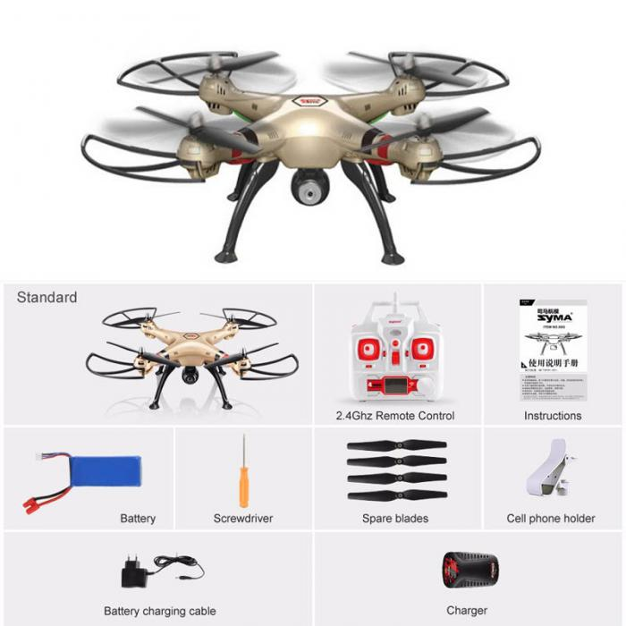 X8HW Wifi WIFI Real-time Images Transmission FPV 2.0MP HD Camera RC Quadcopter with Altitude Hold And Headless M09