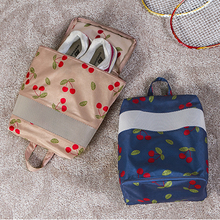 Free Shipping Newest Nylon Mesh Travel Portable Tote Shoes Pouch Outdoor Beach Gym Swimming Clothing Waterproof Storage Bag(China)