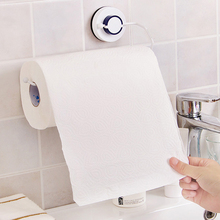 Vacuum suction cups Sanitary Toilet Paper Holder Tissue Box Kitchen Bathroom Storage Rack Roll Paper Tissue Holder Towel Rack