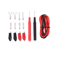 High Quality 1 Set Electronic Test Lead Kit Multifunction Digital Multimeter Probe Test Lead Cable Alligator Clip Tool