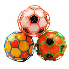 LED Jumping Toy Balls Kids Crazy Music Flashing Football Bouncing Dancing Ball for Children Dancing Ball Led Toys Birthday Gift(China)