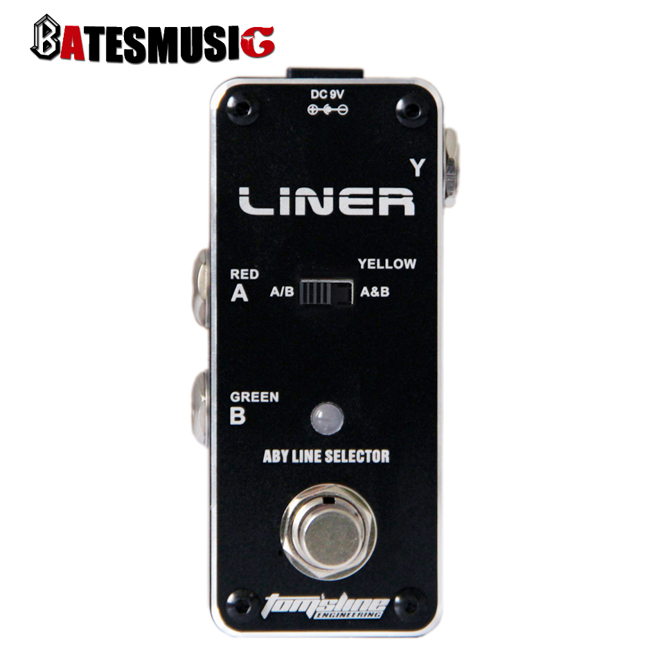 AROMA ALR-3 LINER  ABY signal switch pedal  Mini Analogue Effect True Bypass<br><br>Aliexpress