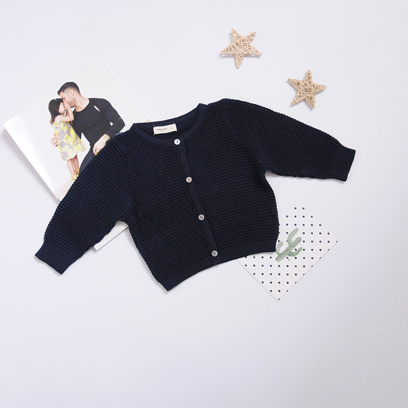 Newborn Baby Cardigan Sweater For Boys Girls Autumn Infant Girl Knied Sweater Clothes Toddler Boy Coon Cardigan Outerwear (7)