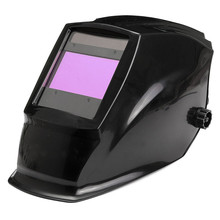 Hot Sale Big View Area Solar Auto Darkening/shading Welding Helmet Face Mask For Arc Mig Tig Weld DIN9-DIN13 Stepless Adjustment