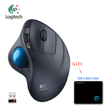 Logitech M570 Mouse with 2.4G Wireless Optical Trackball Ergonomic for Windos 10/8/7 Mac OS Support Official Test + Free Gift