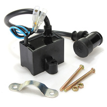50cc 60cc 66cc 80cc CDI Ignition Coil 2-Stroke Bike Bicycle Motorcycle Engine Free shipping