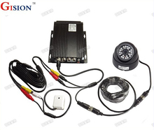 Free Shipping DHL Vehicle DVR Kit G-sensor with H.264  1 Channal Car dvrs Truck /Bus Security DVR Kit