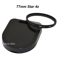 77mm 77 mm Star Filter 4 4x Twinkle Filters For Nikon D60 D70 D70S D80 D90 D300 D300S D600 D610 D700 D700S D750 D800 D800E Lens