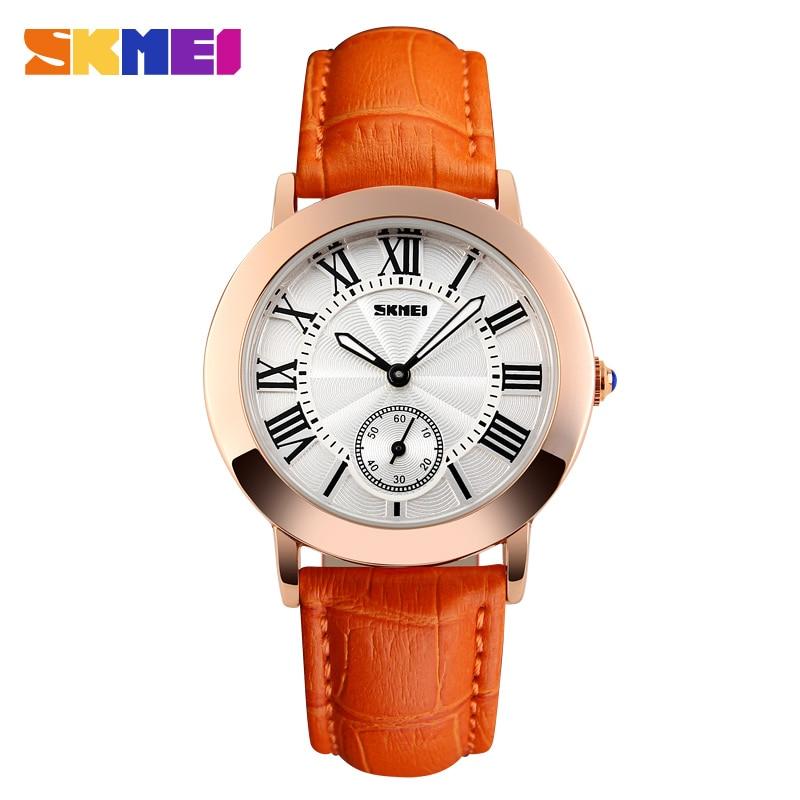 SKMEI Women Quartz Watch Lady Watches Leather Strap Reloj Mujer Fashion Casual Wristwatches Relogio Feminino Montre Femme 1083<br><br>Aliexpress