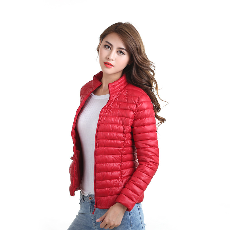 2017 NEW Women fashion thin down coat short jacket bomber padded cotton Outerwear Tops chaquetas Clothing Slim 4XL Big Size  Одежда и ак�е��уары<br><br><br>Aliexpress