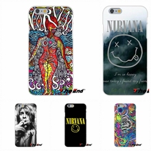 Kurt Cobain Nirvana Rock Bands For Huawei G7 G8 P7 P8 P9 Lite Honor 4C Mate 7 8 Y5II Soft Silicone Cell Phone Case Cover