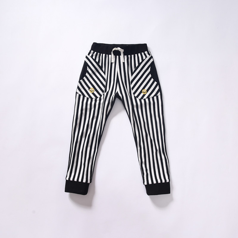 New arrival Girls Casual Pants Fall/Spring Striped Trousers Kids Girl Capris 5-10Y<br><br>Aliexpress