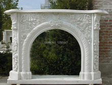 stone fireplace mantel surround special European style furniture customizing