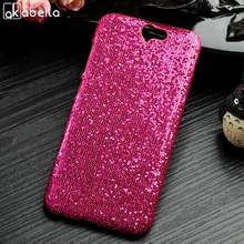 AKABEILA Mobile Phone Cases For HTC ONE A9 4G LTE Cellphone Cases PC+PU Back Covers Shell Housing Skin Bags Bling Hot Pink(China)